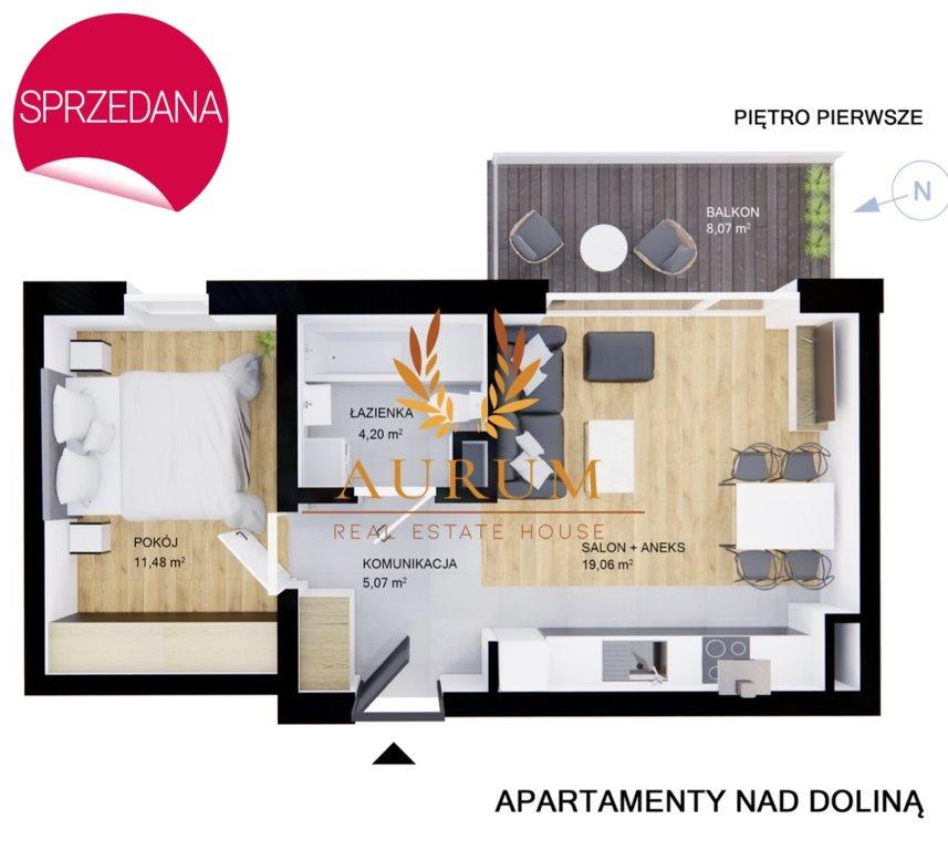 Mieszkanie dwupokojowe na sprzedaż Kielce, Przelot  40m2 Foto 5