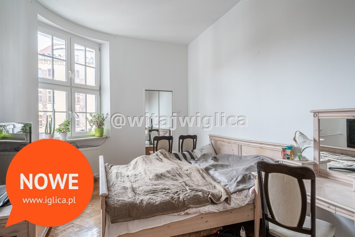 Mieszkanie trzypokojowe na wynajem Wrocław, Stare Miasto, Rynek  89m2 Foto 7