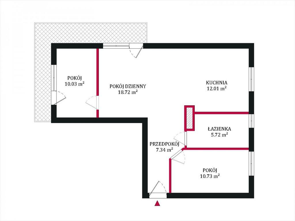 Mieszkanie trzypokojowe na sprzedaż Gdynia, Witomino-Leśniczówka, Wąska  65m2 Foto 5