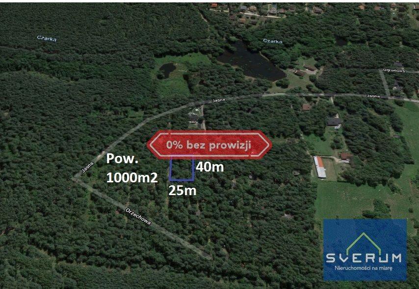 Działka rekreacyjna na sprzedaż Żarki-Letnisko  1000m2 Foto 1