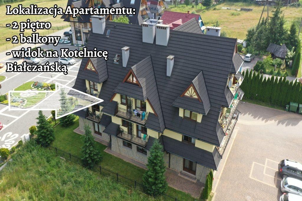 Mieszkanie dwupokojowe na sprzedaż Białka Tatrzańska, Środkowa  39m2 Foto 1