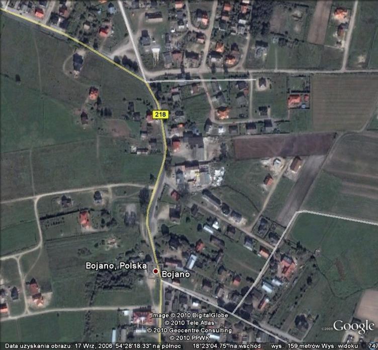 Działka budowlana na sprzedaż Bojano, NA DAMBNIK, Lipowa  1281m2 Foto 1