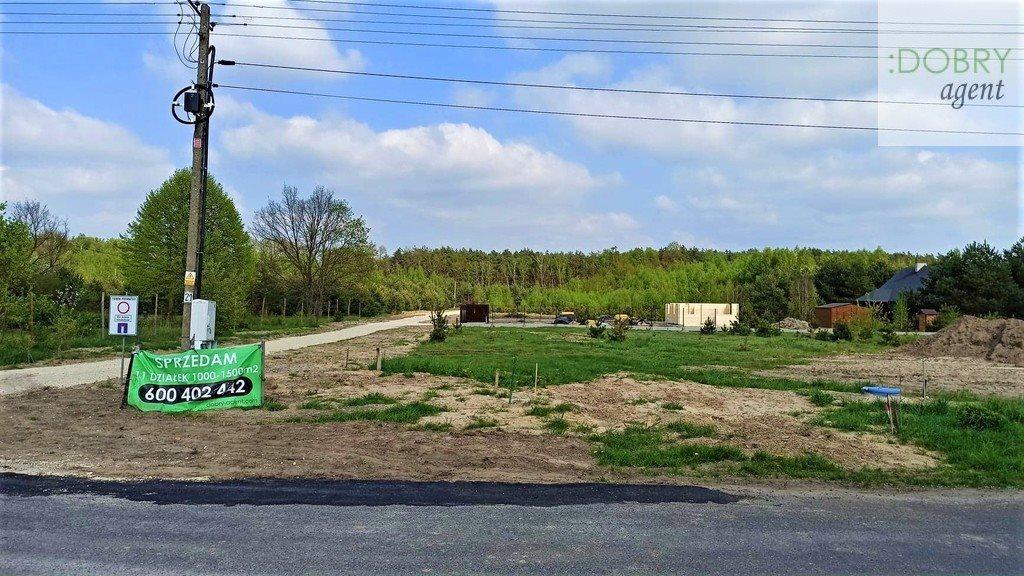 Działka budowlana na sprzedaż Nowe Chrusty  1044m2 Foto 1
