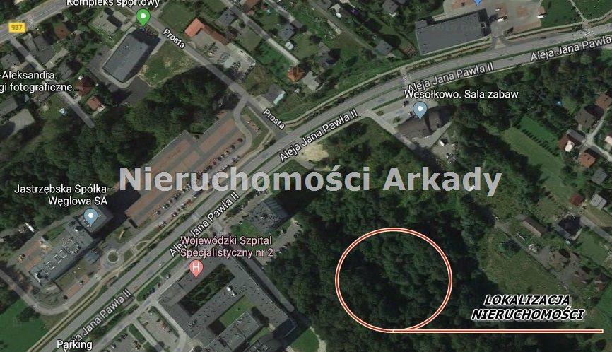Działka inwestycyjna na sprzedaż Jastrzębie-Zdrój, Centrum, Aleja Jana Pawła II  2400m2 Foto 1