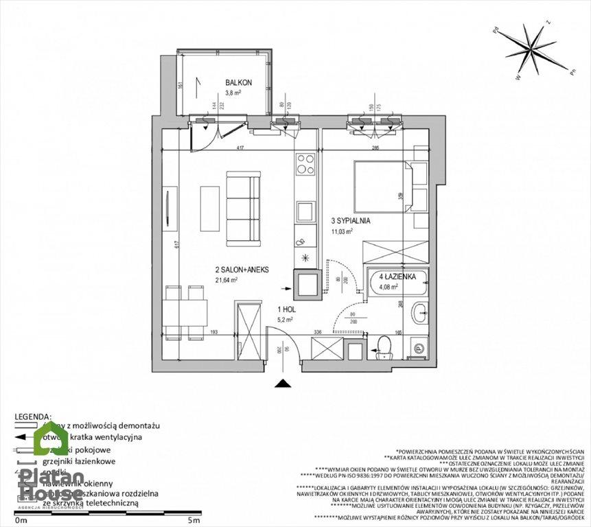 Mieszkanie dwupokojowe na sprzedaż Warszawa, Ursus, Posag 7 Panien  40m2 Foto 5