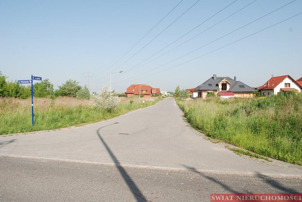Działka budowlana na sprzedaż Żerniki Wrocławskie  2100m2 Foto 2