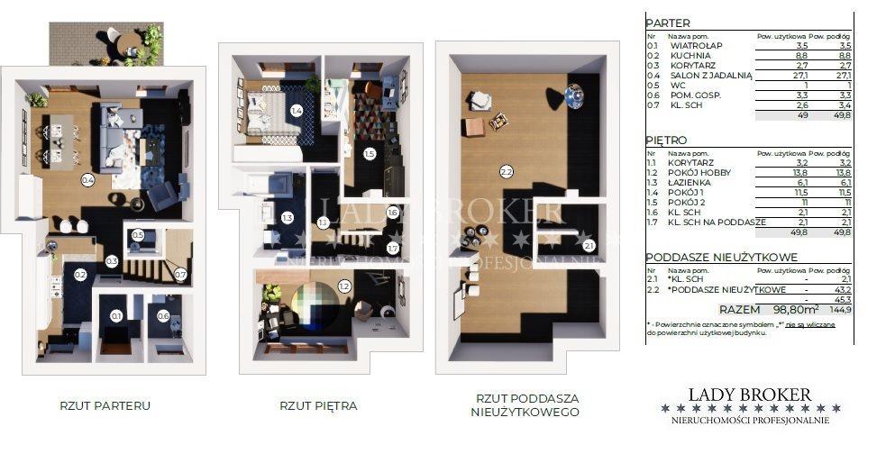 Dom na sprzedaż Rzeszów, Załęże  145m2 Foto 5