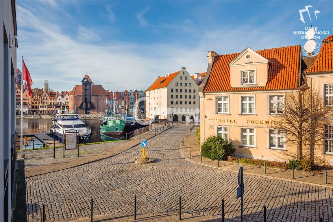 Mieszkanie trzypokojowe na wynajem Gdańsk, Stare Miasto, Szafarnia  70m2 Foto 2