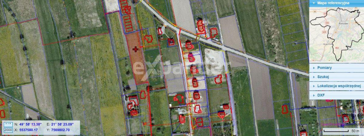 Działka budowlana na sprzedaż Rzeszów, Porąbki  2800m2 Foto 2