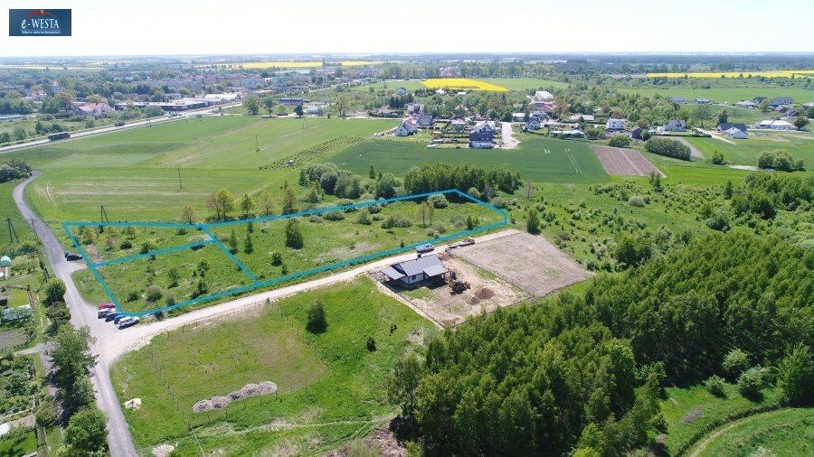 Działka budowlana na sprzedaż Człuchów  1263m2 Foto 2