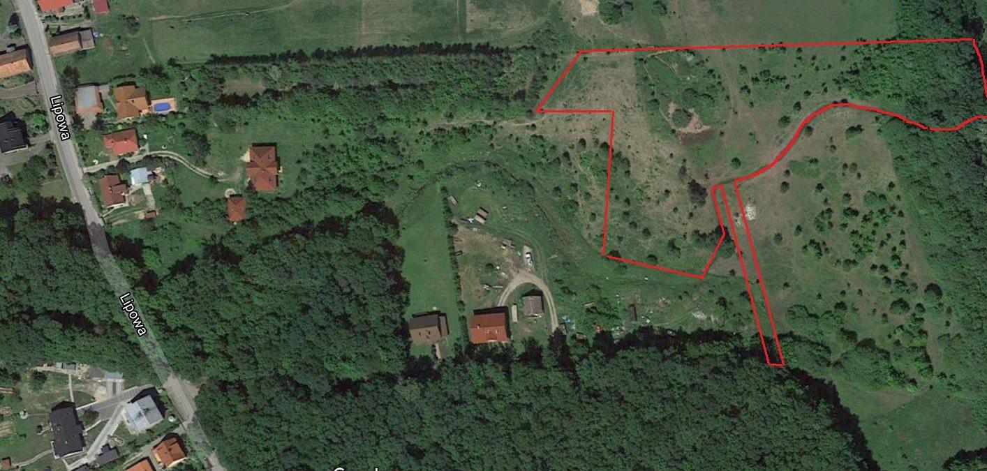 Działka rolna na sprzedaż Księginice, Leśna  9948m2 Foto 1