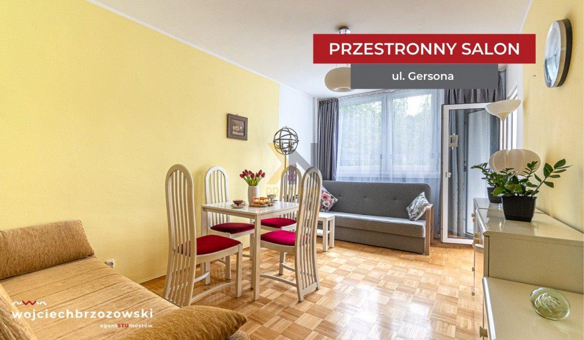 Mieszkanie trzypokojowe na sprzedaż Wrocław, Biskupin, Wojciecha Gersona  48m2 Foto 2