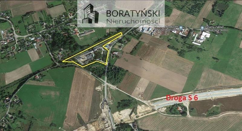 Działka przemysłowo-handlowa na sprzedaż Skibno, Skibno  37100m2 Foto 1