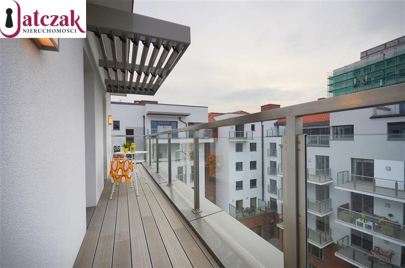 Mieszkanie dwupokojowe na wynajem Gdańsk, Śródmieście, WATERLANE, SZAFARNIA  54m2 Foto 7