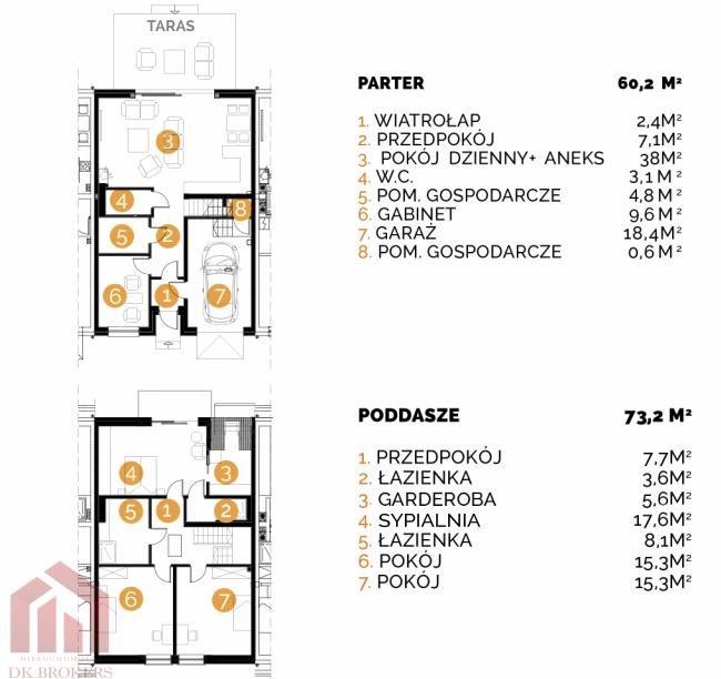 Dom na sprzedaż Rzeszów, Budziwój, Śnieżna  133m2 Foto 4