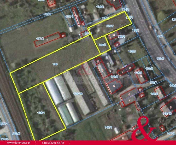 Działka budowlana na sprzedaż Rumia, Grunwaldzka  5627m2 Foto 1