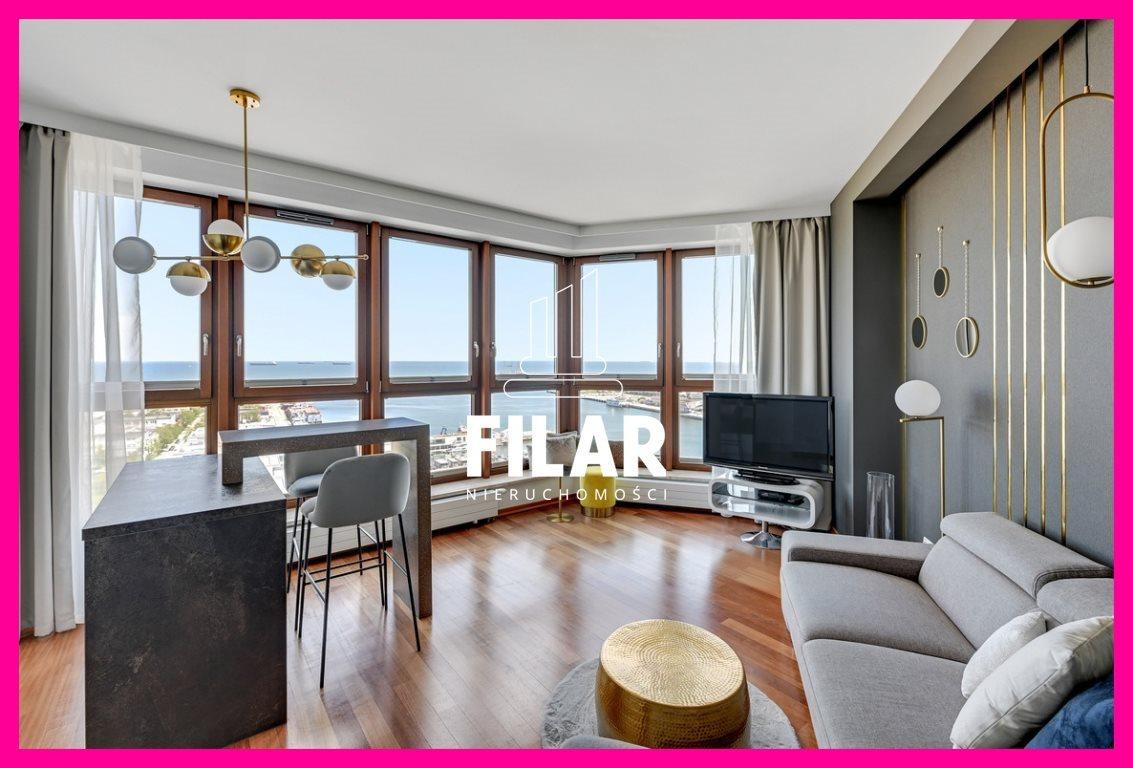 Mieszkanie dwupokojowe na wynajem Gdynia, Śródmieście, Centrum, A. Hryniewickiego  44m2 Foto 1