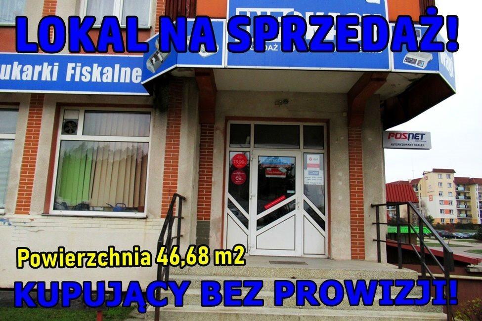 Lokal użytkowy na sprzedaż Ełk, Osiedle Jeziorna  47m2 Foto 1