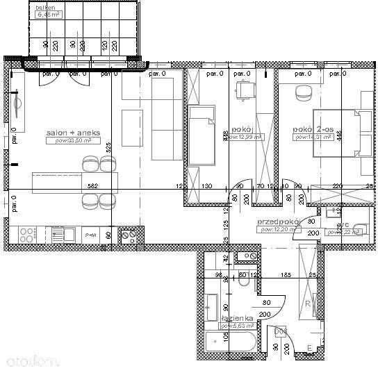 Mieszkanie trzypokojowe na sprzedaż Katowice, Kostuchna  85m2 Foto 2