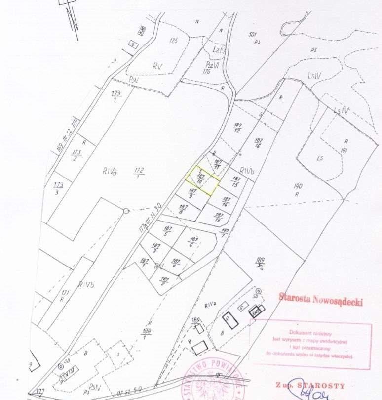 Działka budowlana na sprzedaż Gródek nad Dunajcem  8200m2 Foto 10