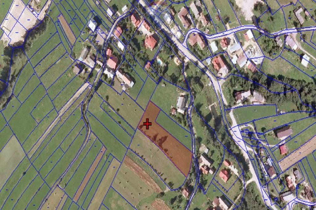 Działka budowlana na sprzedaż Rabka-Zdrój  3782m2 Foto 1