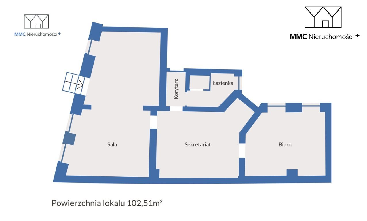 Lokal użytkowy na sprzedaż Bytom, Piłsudskiego  103m2 Foto 2