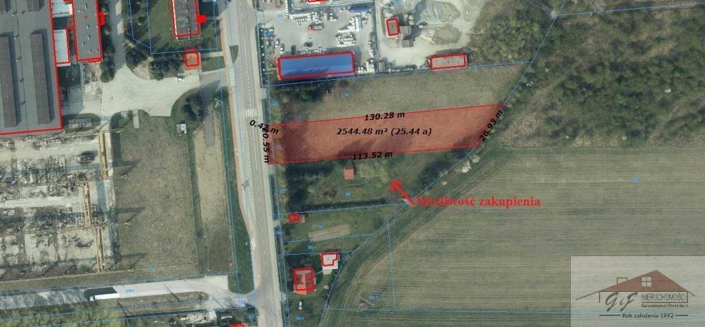 Działka przemysłowo-handlowa na sprzedaż Przemyśl, Ofiar Katynia  2559m2 Foto 7