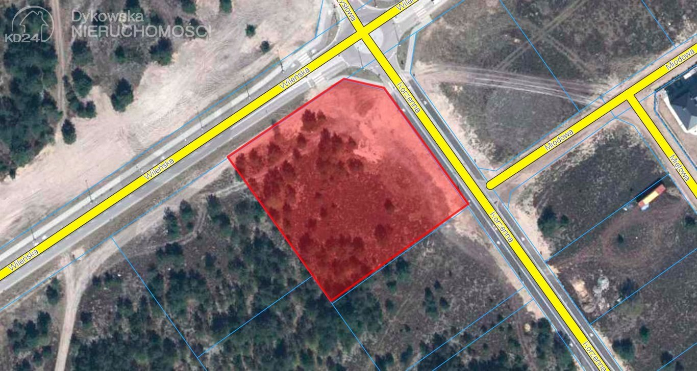 Działka budowlana na sprzedaż Lębork, Wileńska  4417m2 Foto 1
