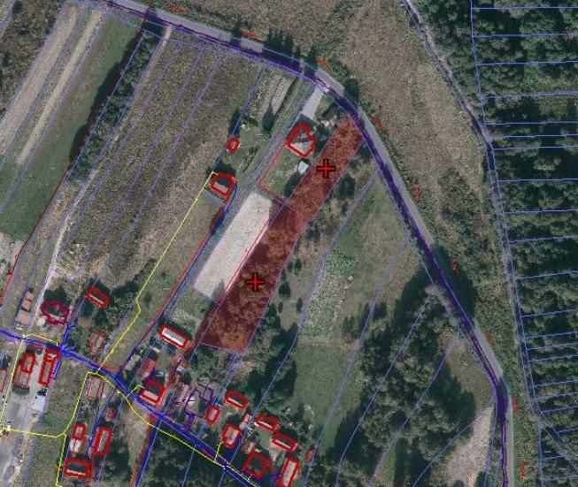 Działka budowlana na sprzedaż Przewrotne  3300m2 Foto 1