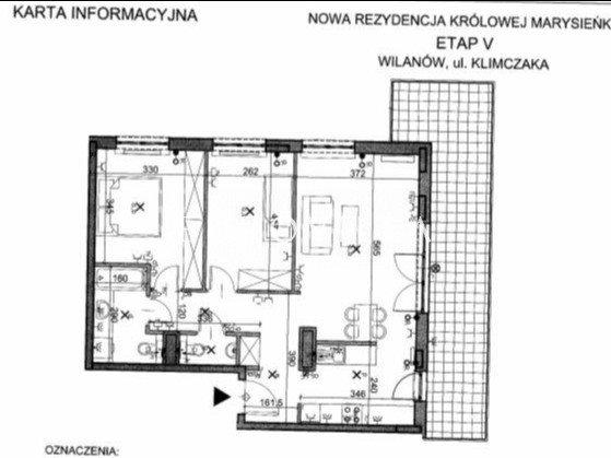 Mieszkanie trzypokojowe na sprzedaż Warszawa, Wilanów, Franciszka Klimczaka  71m2 Foto 12