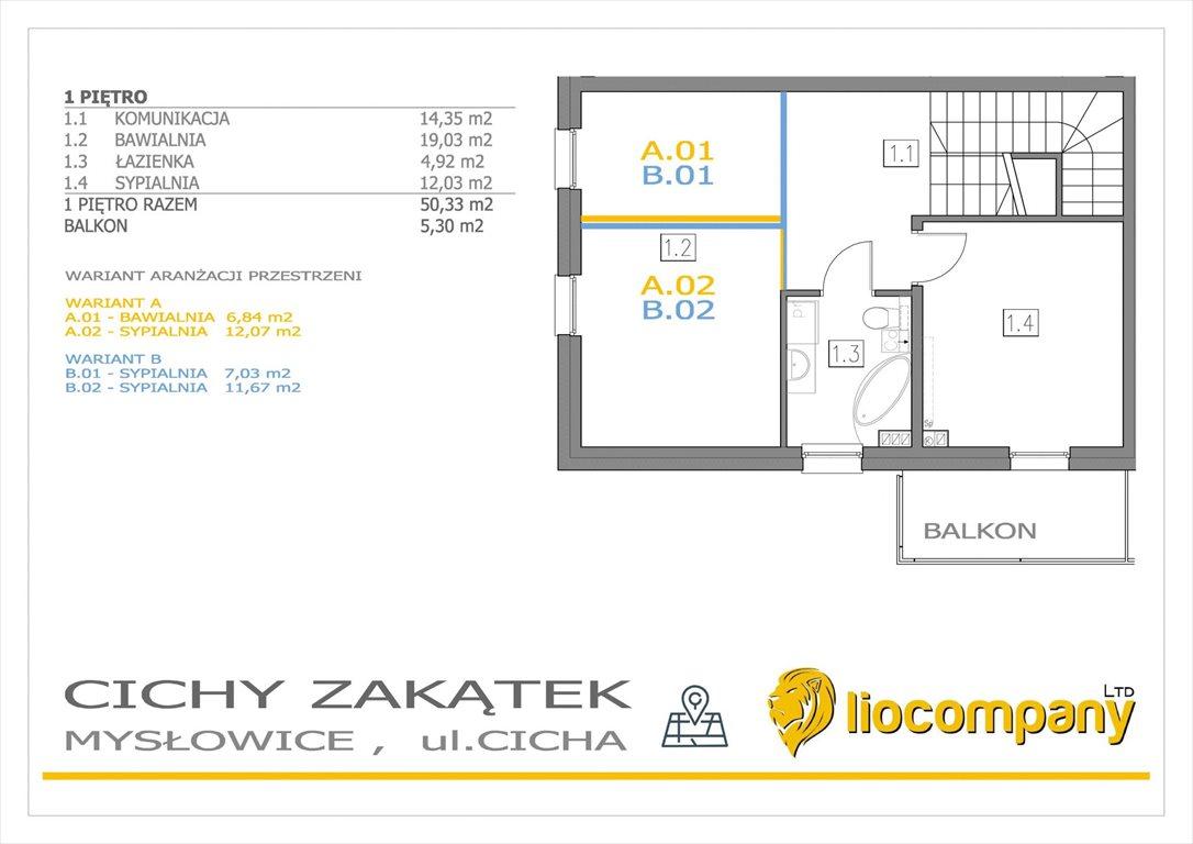 Mieszkanie na sprzedaż Mysłowice, Morgi, Cicha  128m2 Foto 7