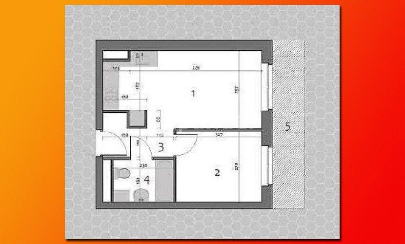 Mieszkanie dwupokojowe na sprzedaż Poznań  33m2 Foto 5