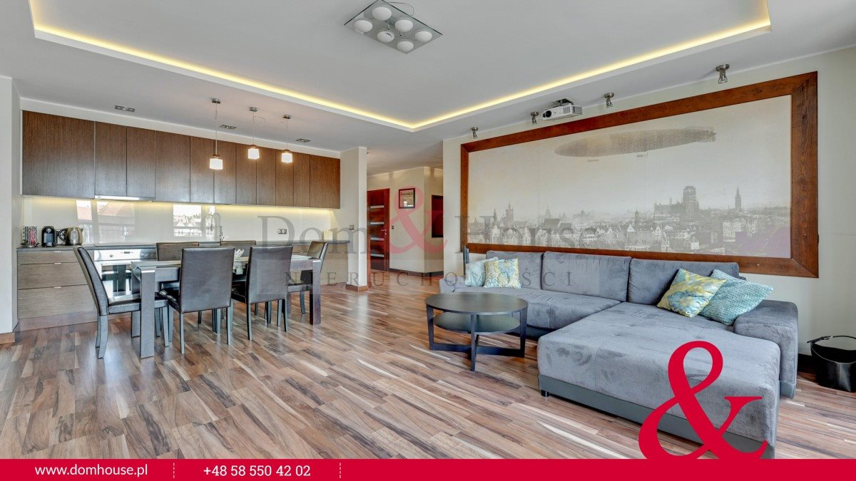 Mieszkanie trzypokojowe na sprzedaż Gdańsk, Śródmieście, Szafarnia  94m2 Foto 3