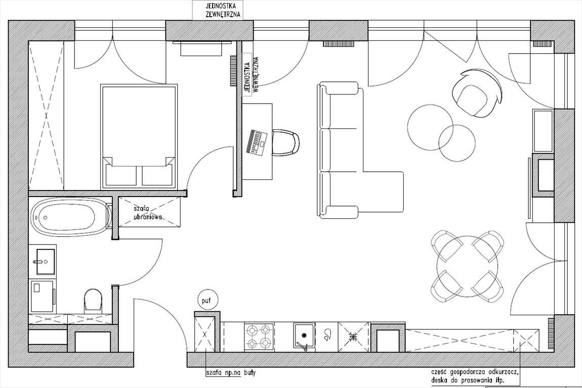 Mieszkanie dwupokojowe na sprzedaż Warszawa, Emilii Plater  61m2 Foto 12