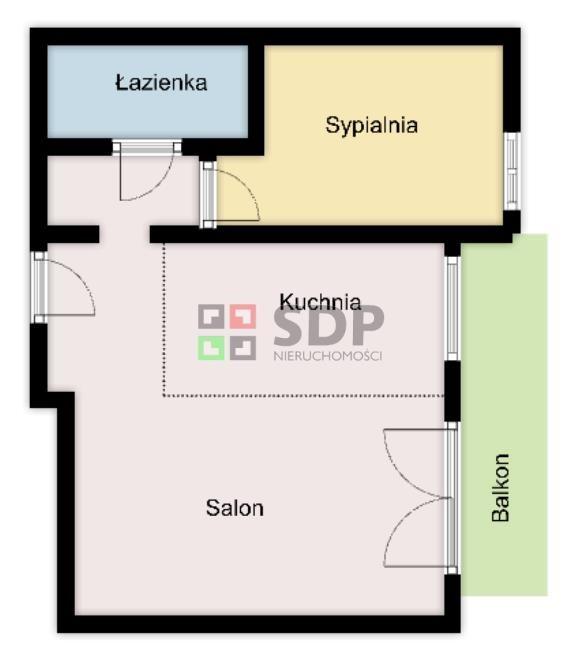 Mieszkanie dwupokojowe na sprzedaż Wrocław, Krzyki, Jagodno  52m2 Foto 5