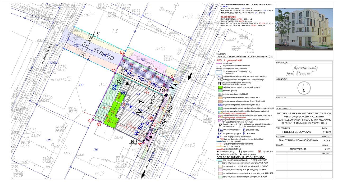 Działka inwestycyjna na sprzedaż Pruszków, Centrum, Ignacego Daszyńskigo 12  645m2 Foto 8