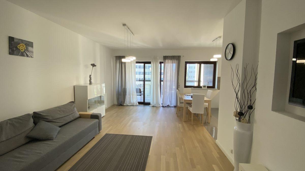 Mieszkanie trzypokojowe na wynajem Warszawa, Mokotów, Adama Naruszewicza  75m2 Foto 1