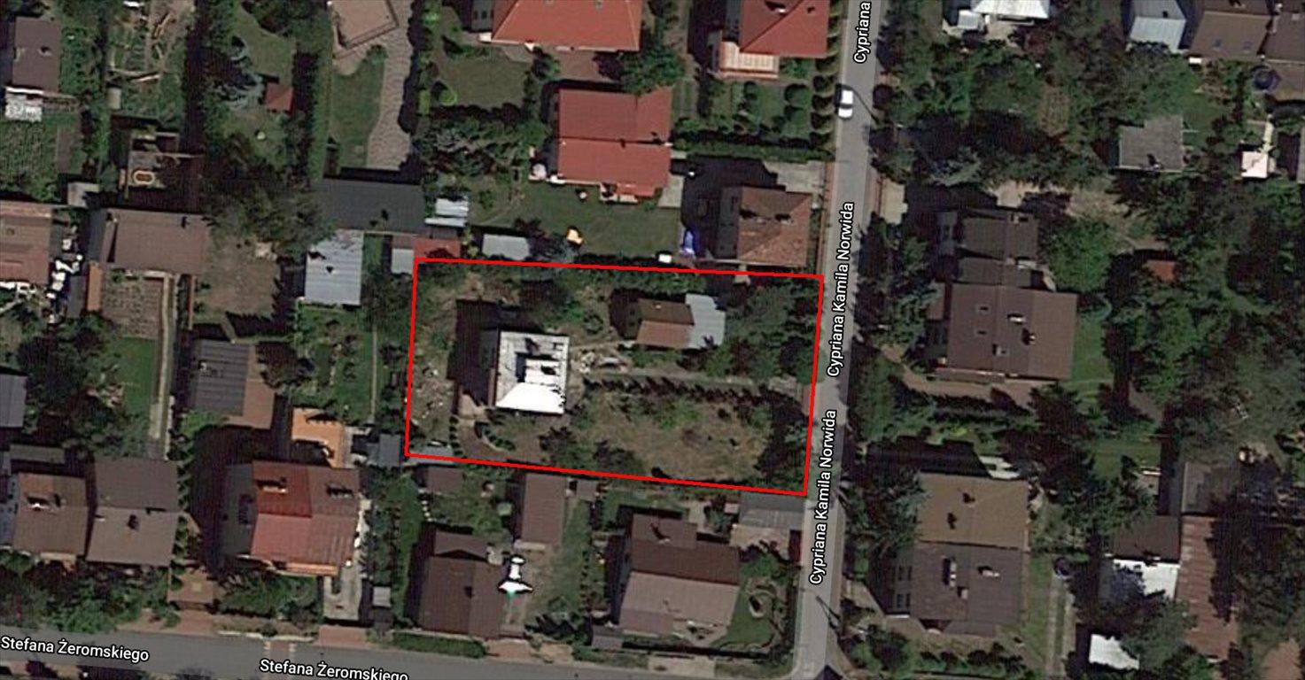 Działka budowlana na sprzedaż Warszawa, Wesoła, Norwida  1246m2 Foto 3
