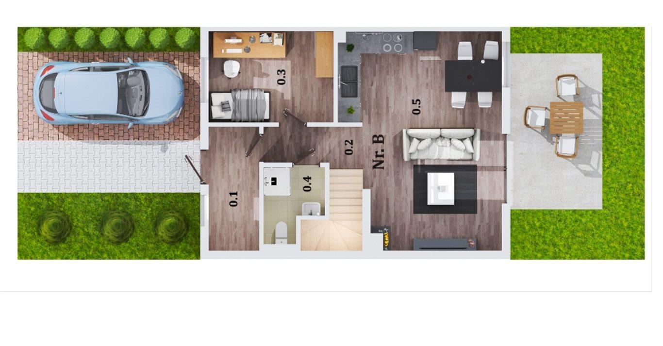 Dom na sprzedaż Lubin  94m2 Foto 2