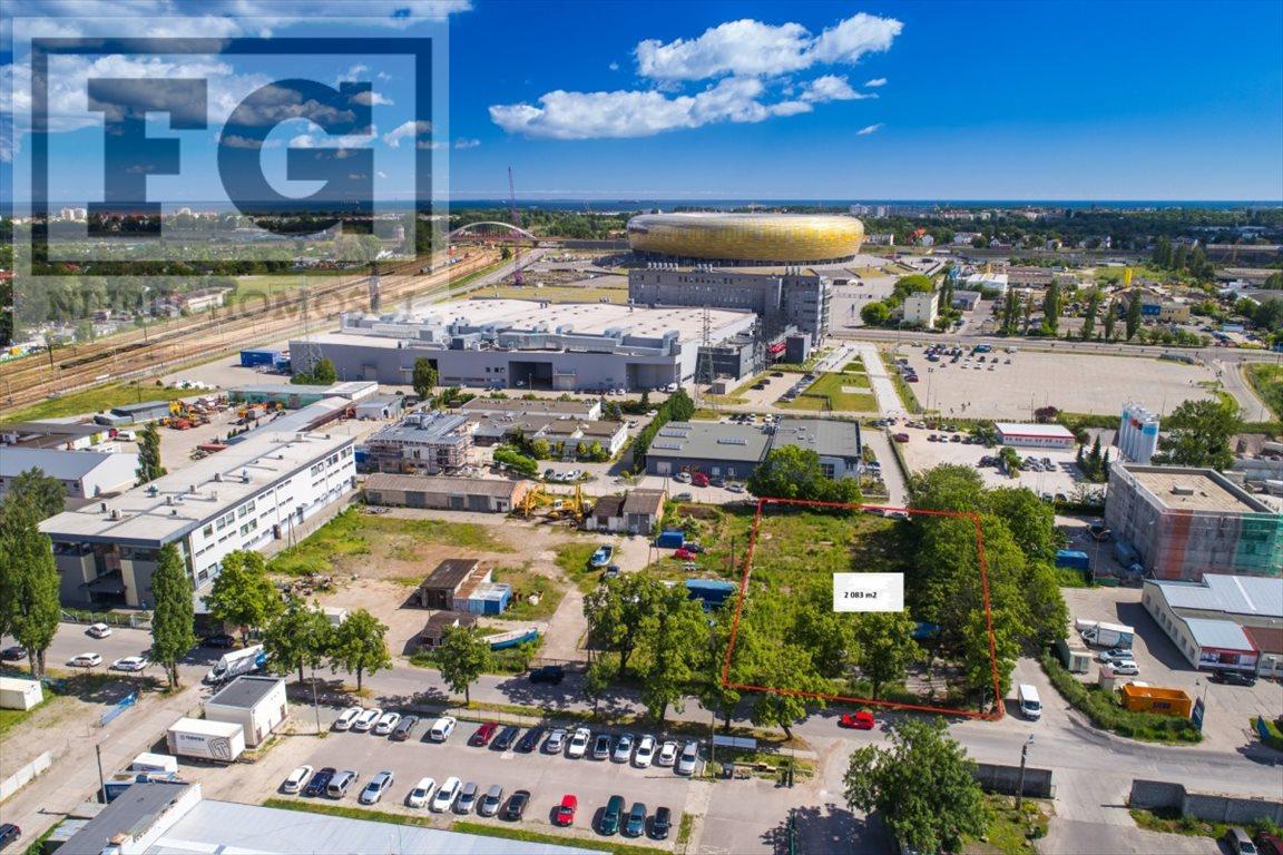 Działka przemysłowo-handlowa na sprzedaż Gdańsk, Letnica  2083m2 Foto 1