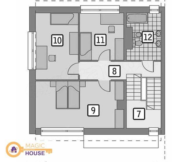 Mieszkanie czteropokojowe  na sprzedaż Bojano, Hippiczna  190m2 Foto 9