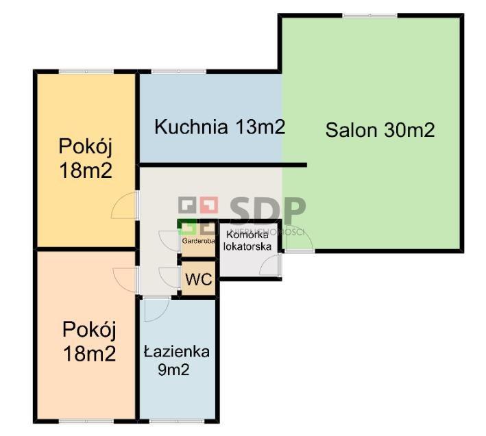 Mieszkanie trzypokojowe na sprzedaż Wrocław, Krzyki, Krzyki, Komandorska  92m2 Foto 2