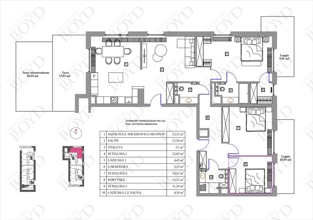 Mieszkanie na sprzedaż Warszawa, Wola, Juliana Konstantego Ordona  124m2 Foto 9