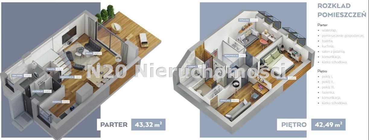 Dom na sprzedaż Wielka Wieś, Modlnica, Graniczna - okolice  86m2 Foto 6