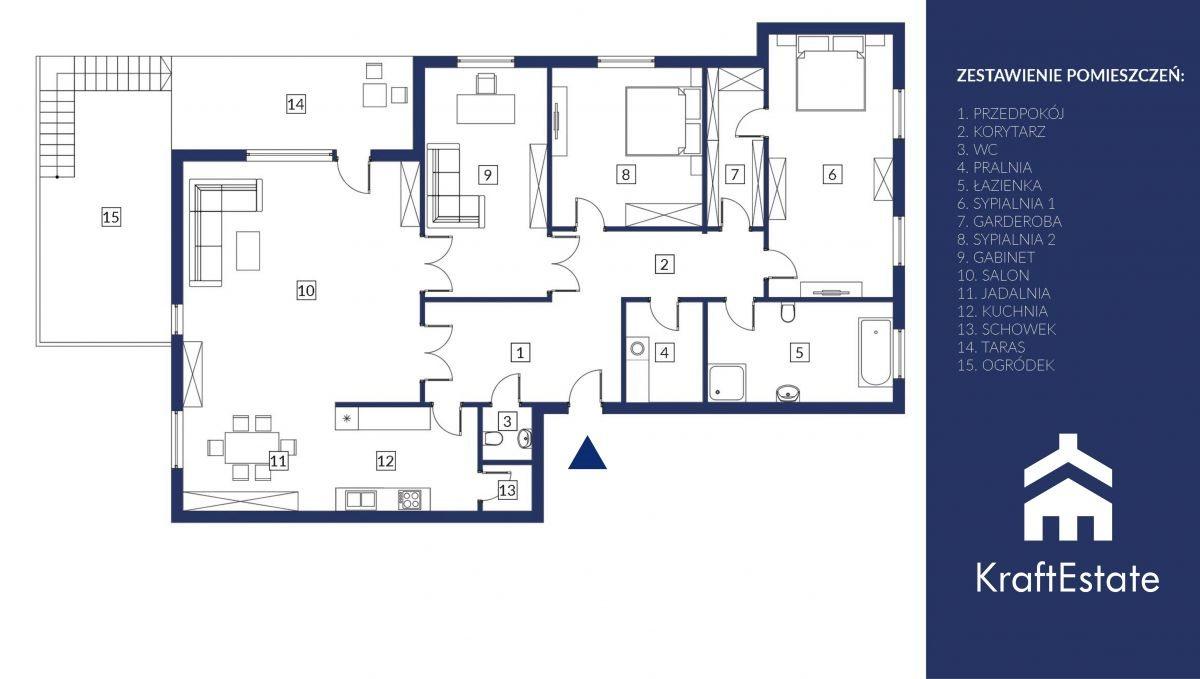 Mieszkanie czteropokojowe  na sprzedaż Józefosław, Magnolii  150m2 Foto 8