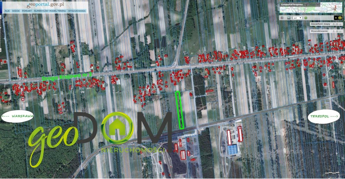 Działka przemysłowo-handlowa na sprzedaż Terespol  5480m2 Foto 1