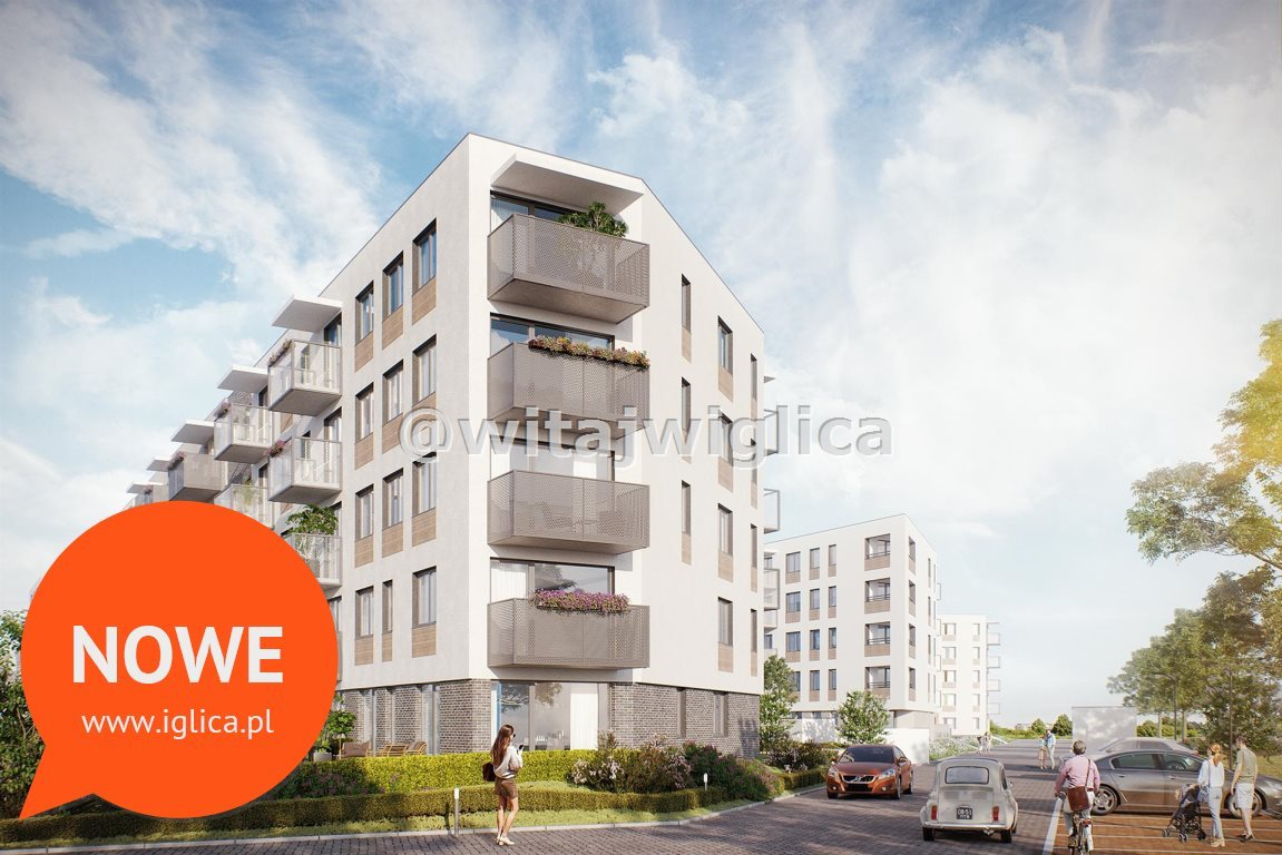 Mieszkanie dwupokojowe na sprzedaż Wrocław, Krzyki, Klecina, Jutrzenki  49m2 Foto 4