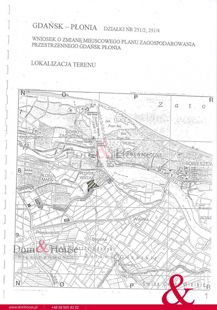 Działka przemysłowo-handlowa na sprzedaż Gdańsk, Płonia Wielka, Naftowa  66484m2 Foto 1