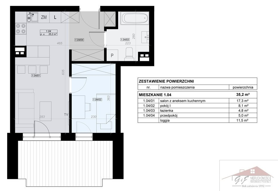 Mieszkanie dwupokojowe na sprzedaż Przemyśl, Tatarska  35m2 Foto 3