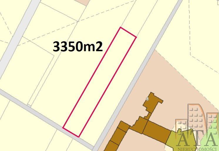 Działka budowlana na sprzedaż Święta Katarzyna  3350m2 Foto 1